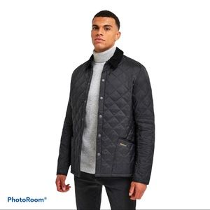 BARBOUR Liddesdale Quilted Brown Jacket XS
